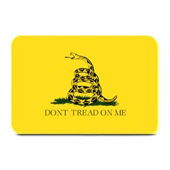 Gadsden Flag Don t Tread On Me Plate Mats by snek