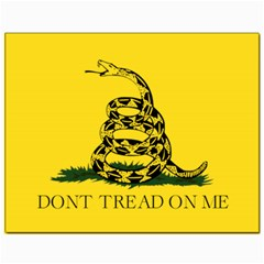 Gadsden Flag Don t Tread On Me Canvas 11  X 14   by snek