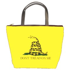 Gadsden Flag Don t Tread On Me Bucket Bags by snek