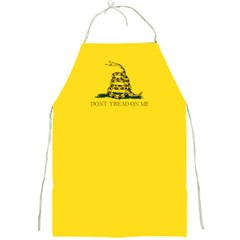 Gadsden Flag Don t Tread On Me Full Print Aprons by snek