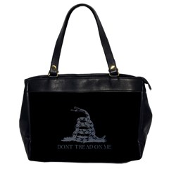 Gadsden Flag Don t Tread On Me Office Handbags by MAGA