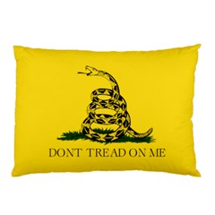 Gadsden Flag Don t Tread On Me Pillow Case (two Sides) by MAGA