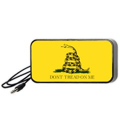 Gadsden Flag Don t Tread On Me Portable Speaker by MAGA