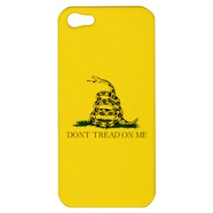 Gadsden Flag Don t Tread On Me Apple Iphone 5 Hardshell Case by MAGA