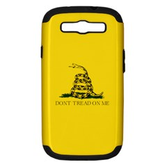 Gadsden Flag Don t Tread On Me Samsung Galaxy S Iii Hardshell Case (pc+silicone) by snek
