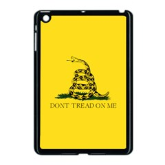 Gadsden Flag Don t Tread On Me Apple Ipad Mini Case (black) by MAGA
