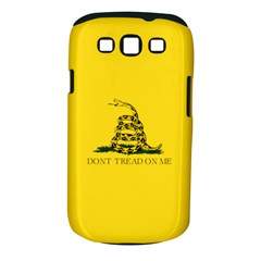 Gadsden Flag Don t Tread On Me Samsung Galaxy S Iii Classic Hardshell Case (pc+silicone) by MAGA