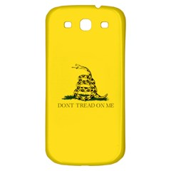 Gadsden Flag Don t Tread On Me Samsung Galaxy S3 S Iii Classic Hardshell Back Case by snek
