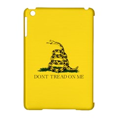 Gadsden Flag Don t Tread On Me Apple Ipad Mini Hardshell Case (compatible With Smart Cover) by MAGA