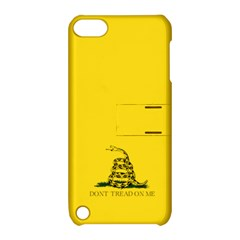 Gadsden Flag Don t Tread On Me Apple Ipod Touch 5 Hardshell Case With Stand by snek
