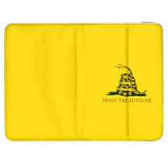 Gadsden Flag Don t Tread On Me Samsung Galaxy Tab 7  P1000 Flip Case by MAGA