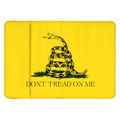Gadsden Flag Don t Tread On Me Samsung Galaxy Tab 8 9  P7300 Flip Case by snek