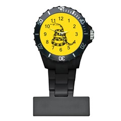 Gadsden Flag Don t Tread On Me Plastic Nurses Watch by snek