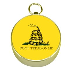 Gadsden Flag Don t Tread On Me Gold Compasses by MAGA