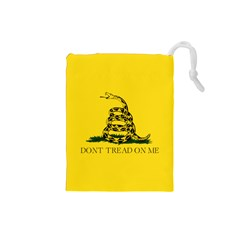 Gadsden Flag Don t Tread On Me Drawstring Pouches (small)  by snek