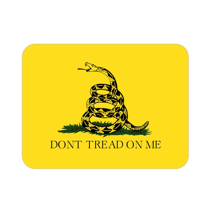 Gadsden Flag Don t tread on me Double Sided Flano Blanket (Mini)