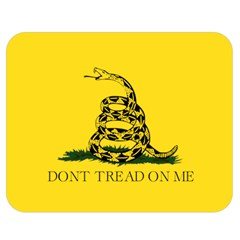Gadsden Flag Don t Tread On Me Double Sided Flano Blanket (medium)  by snek