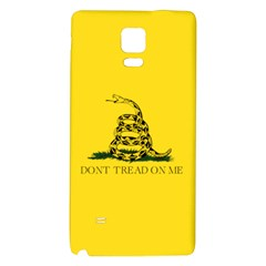 Gadsden Flag Don t Tread On Me Galaxy Note 4 Back Case by MAGA