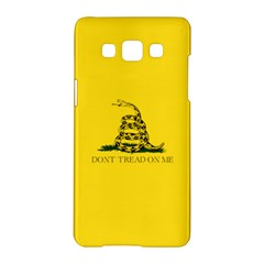 Gadsden Flag Don t Tread On Me Samsung Galaxy A5 Hardshell Case  by snek
