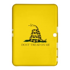 Gadsden Flag Don t Tread On Me Samsung Galaxy Tab 4 (10 1 ) Hardshell Case  by snek