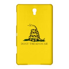 Gadsden Flag Don t Tread On Me Samsung Galaxy Tab S (8 4 ) Hardshell Case  by MAGA