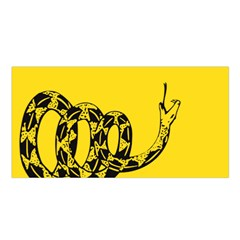 Gadsden Flag Don t Tread On Me Satin Shawl by snek