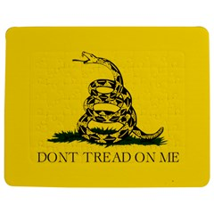 Gadsden Flag Don t Tread On Me Jigsaw Puzzle Photo Stand (rectangular) by snek