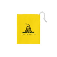 Gadsden Flag Don t Tread On Me Drawstring Pouches (xs)  by MAGA
