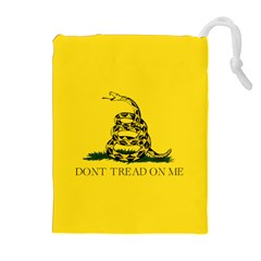 Gadsden Flag Don t Tread On Me Drawstring Pouches (extra Large) by snek