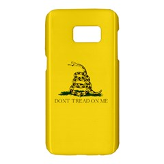 Gadsden Flag Don t Tread On Me Samsung Galaxy S7 Hardshell Case  by snek