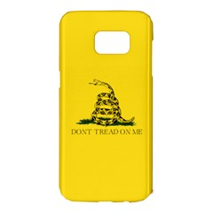 Gadsden Flag Don t Tread On Me Samsung Galaxy S7 Edge Hardshell Case by snek