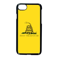 Gadsden Flag Don t Tread On Me Apple Iphone 7 Seamless Case (black) by MAGA