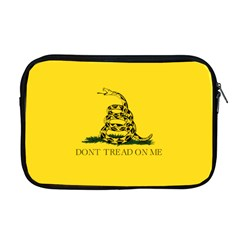 Gadsden Flag Don t Tread On Me Apple Macbook Pro 17  Zipper Case by MAGA
