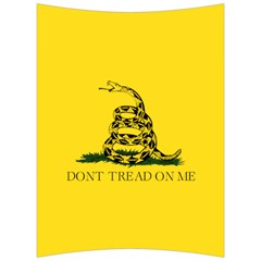 Gadsden Flag Don t Tread On Me Back Support Cushion by MAGA
