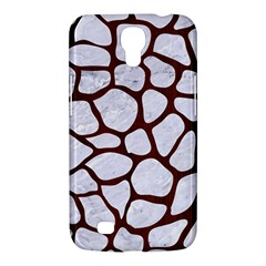 Skin1 White Marble & Reddish Brown Wood Samsung Galaxy Mega 6 3  I9200 Hardshell Case by trendistuff