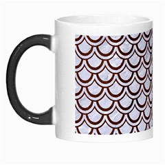 Scales2 White Marble & Reddish Brown Wood (r) Morph Mugs by trendistuff