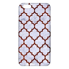 Tile1 White Marble & Reddish Brown Leather (r) Iphone 6 Plus/6s Plus Tpu Case by trendistuff