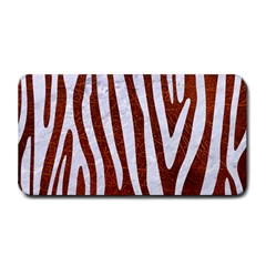 Skin4 White Marble & Reddish Brown Leather (r) Medium Bar Mats by trendistuff