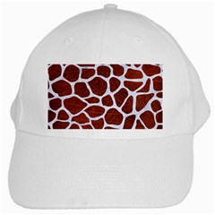 Skin1 White Marble & Reddish Brown Leather (r) White Cap by trendistuff
