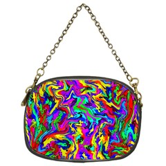 Artwork By Patrick Colorful 18 Chain Purses (two Sides)  by ArtworkByPatrick