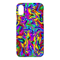 Artwork By Patrick Colorful 18 Apple Iphone X Hardshell Case by ArtworkByPatrick