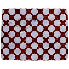 Circles2 White Marble & Reddish Brown Leatherer Jigsaw Puzzle Photo Stand (rectangular) by trendistuff