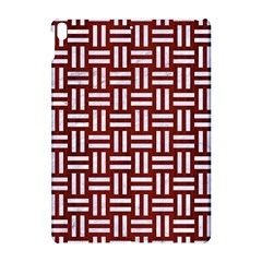 Woven1 White Marble & Red Wood Apple Ipad Pro 10 5   Hardshell Case by trendistuff