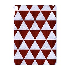 Triangle3 White Marble & Red Wood Apple Ipad Pro 10 5   Hardshell Case by trendistuff