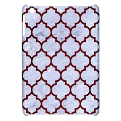 Tile1 White Marble & Red Wood (r) Apple Ipad Mini Hardshell Case by trendistuff