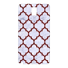 Tile1 White Marble & Red Wood (r) Samsung Galaxy Note 3 N9005 Hardshell Back Case