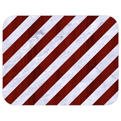 Stripes3 White Marble & Red Wood (r) Full Print Lunch Bag by trendistuff