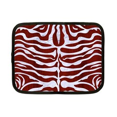 Skin2 White Marble & Red Wood Netbook Case (small)  by trendistuff