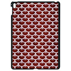 Scales3 White Marble & Red Wood Apple Ipad Pro 9 7   Black Seamless Case by trendistuff