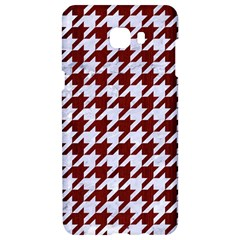 Houndstooth1 White Marble & Red Wood Samsung C9 Pro Hardshell Case  by trendistuff